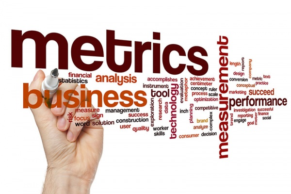 keyword cloud on business metrics